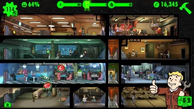 Game android gratis terbaik Fallout Shelter