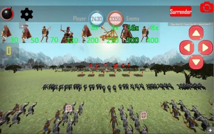 Game perang kerajaan android Roman Empire Rise of Rome