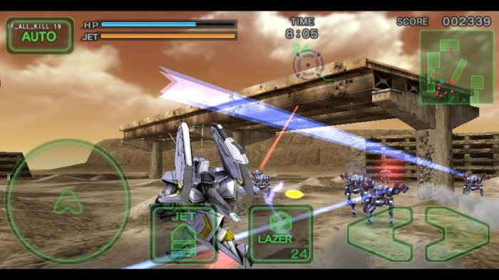 Game perang offline android Destroy Gunners SPα