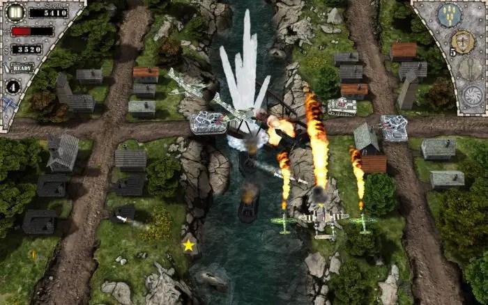 Game pesawat tempur android terbaik AirAttack HD