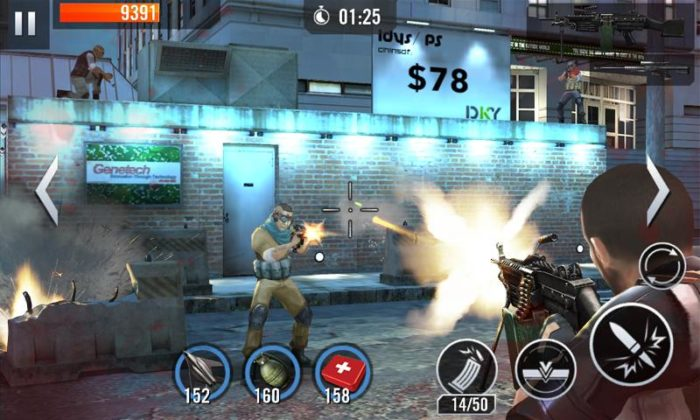 game action android terbaik Elite Killer SWAT