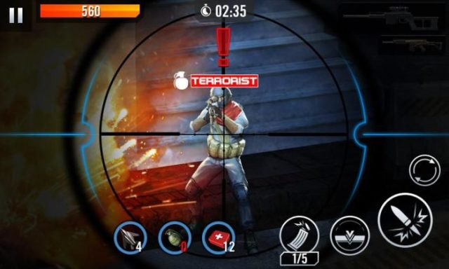 game fps android terbaik offline Elite Killer SWAT