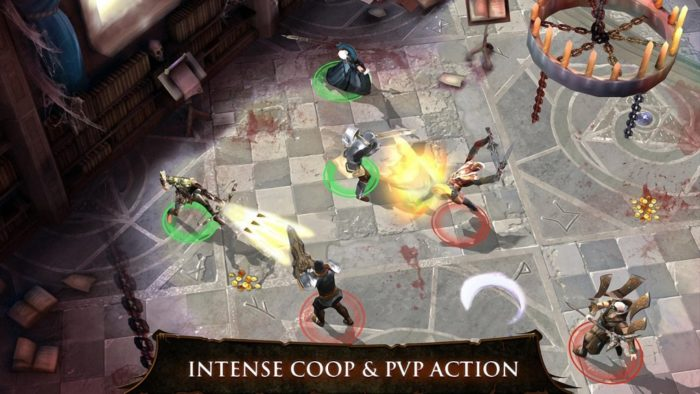 game perang android multiplayer Dungeon Hunter 4