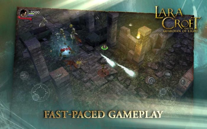 game perang android multiplayer Lara Croft Guardian of Light