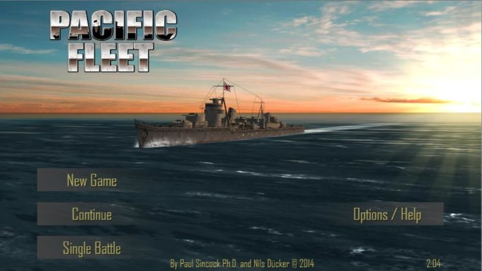 game perang kapal laut android Pacific Fleet