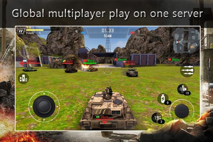 game perang tank android Super Tank Wars