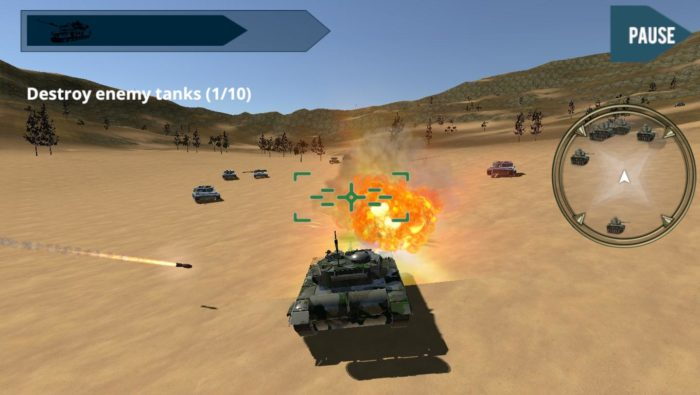 game perang tank android Tanks War 2015