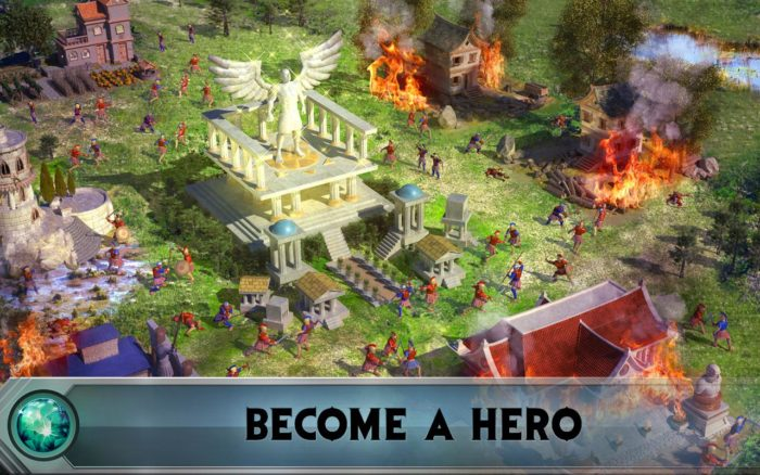 game perang terbaik android Game of War - Fire Age