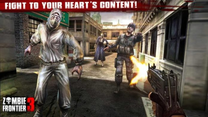 game perang zombie android Zombie Frontier 3
