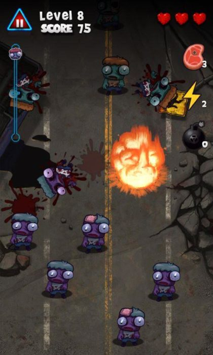 game perang zombie android Zombie Smasher
