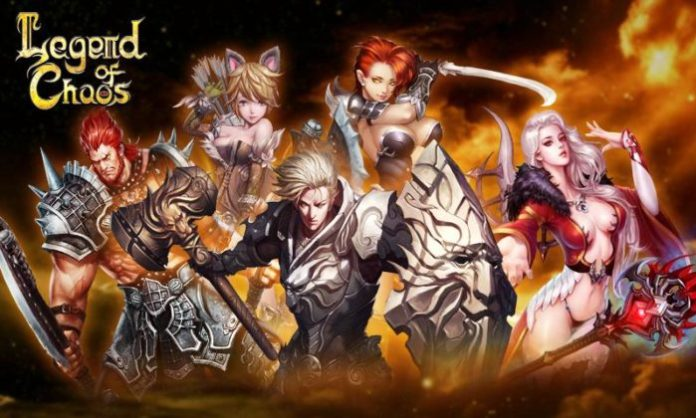 game petualangan rpg Legend of Chaos