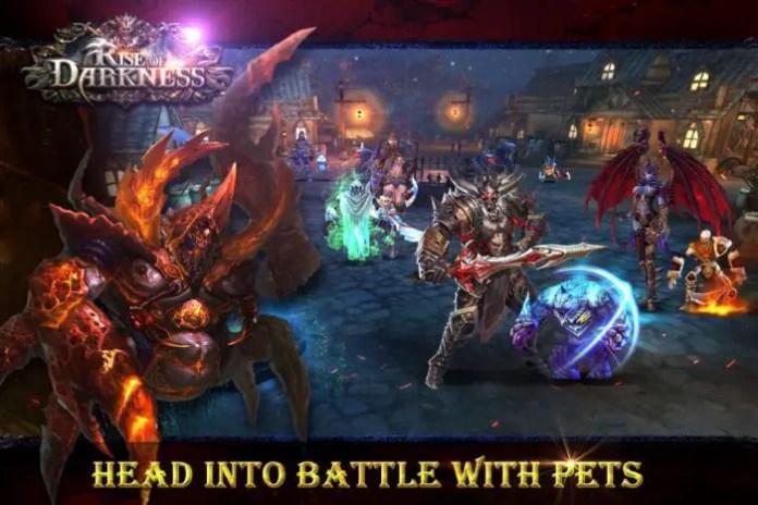 game petualangan rpg Rise of Darkness