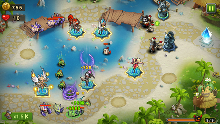 game rpg terbaru Magic Rush Heroes