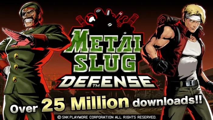 Game Seru METAL SLUG DEFENSE