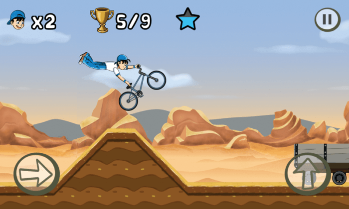 Game sepeda android BMX Kid