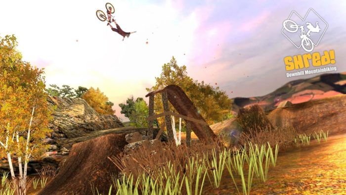 Game sepeda android Shred! Downhill Mountainbiking