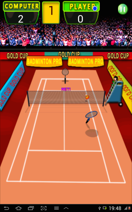 game badminton hd android