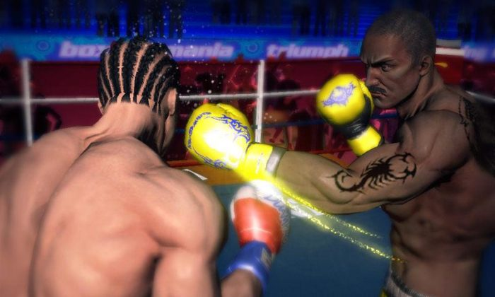 game bela diri Punch Boxing 3D