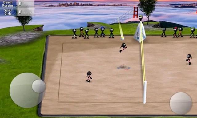 Game Bola Voli Android Terbaik Gratis Stickman Volleyball