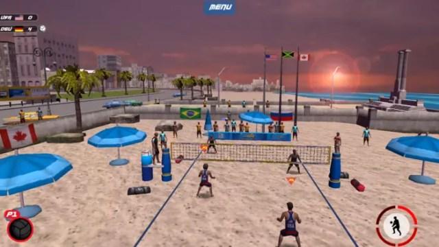 Game Bola Voli Android Terbaik Gratis VTree Entertainment Volleyball