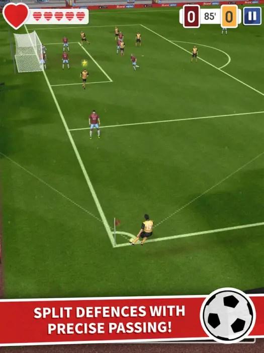 game sepak bola 3d android terbaik gratis