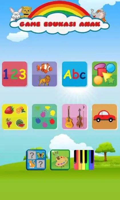 Game Edukasi Lengkap Untuk Anak Di Android