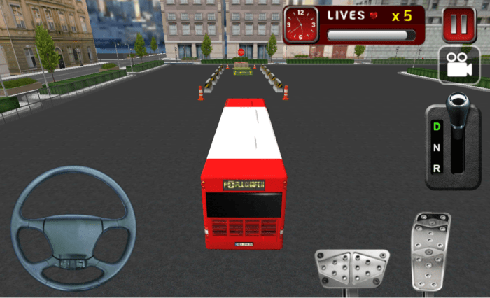 game belajar parkir bus android