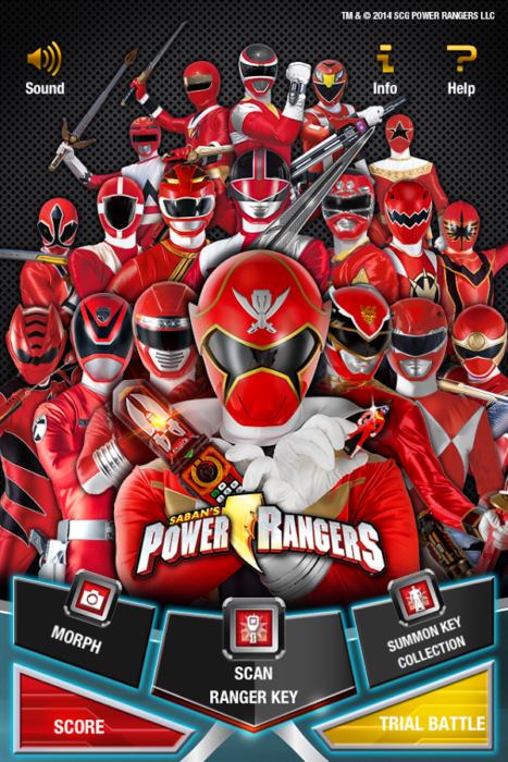 game power ranger android 4