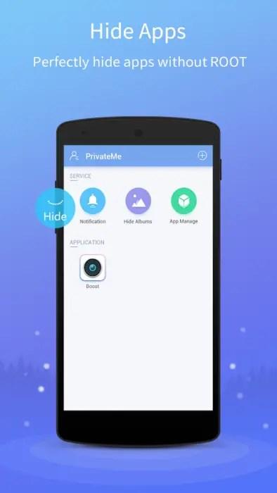 Sembunyikan aplikasi android dengan Hide Apps