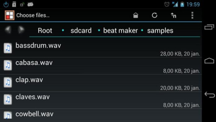 Beat Maker Audio Editor