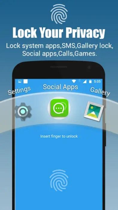 App Lock Real Fingerprint