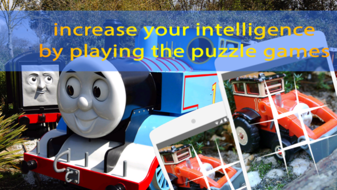 Thomas Train Puzzle