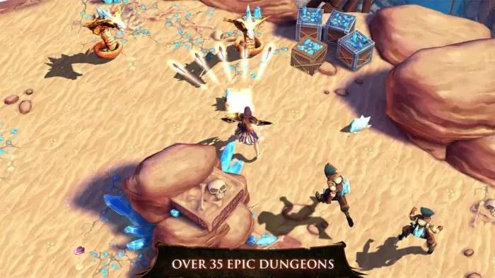 Dungeon Hunter 4 Petualangan Bersama 4 Karakter Mengagumkan