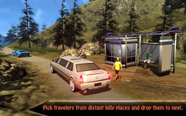 Fitur Offroad Hill Climb Limo Drive