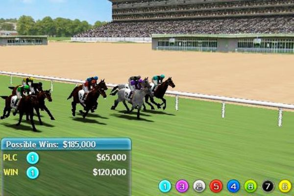 game balap kuda Virtual Horse Racing 3D
