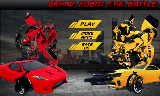 Grand Robot Car Battle