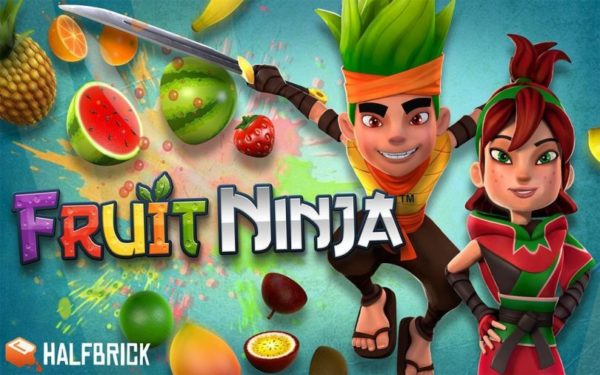 game 2 player Fruit Ninja