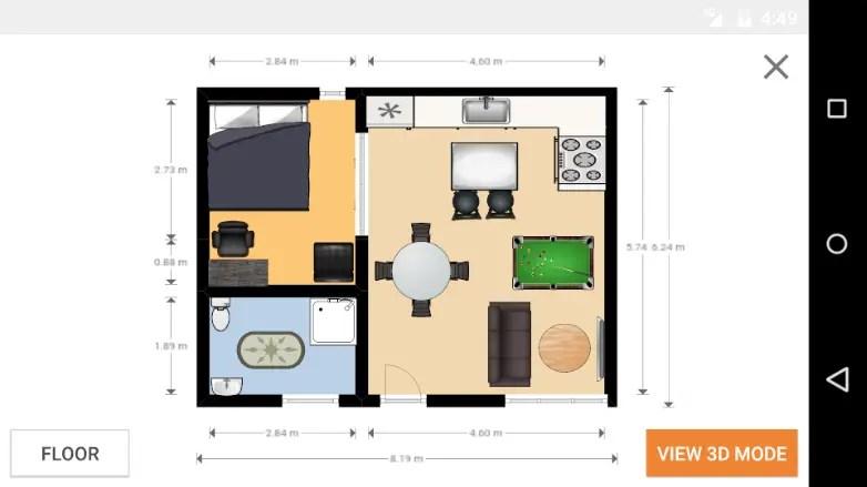 aplikasi desain rumah Floorplanner