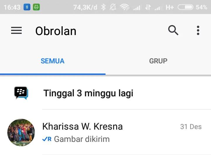 cara meninggalkan group bbm (1)