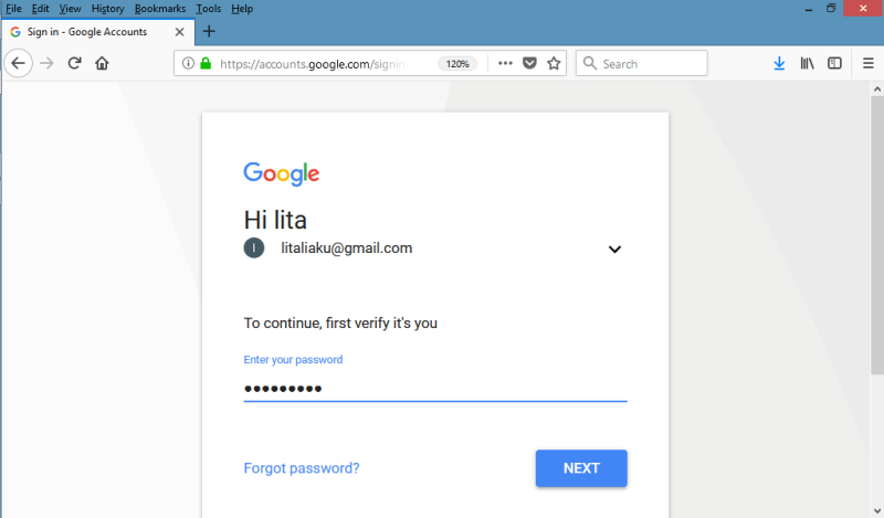ganti password gmail  lewat pc