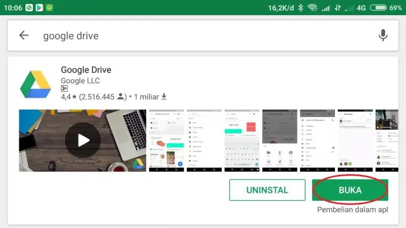 Cara Menyimpan File di Google Drive (2)