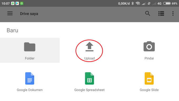 Cara Menyimpan File di Google Drive (5)