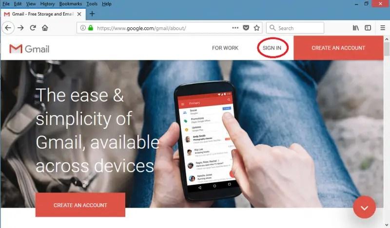 Cara Reset Kata Sandi Gmail dengan Email Pemulihan