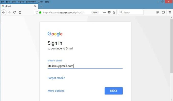 lupa kata sandi gmail? setel ulang dengan email pemulihan