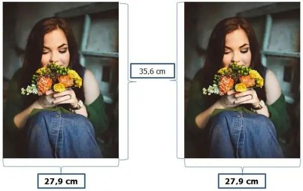 contoh ukuran foto 11R dalam satuan cm