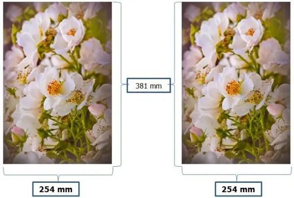 contoh ukuran foto 10R plus