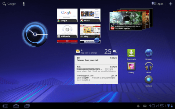Android 3.0Honeycomb