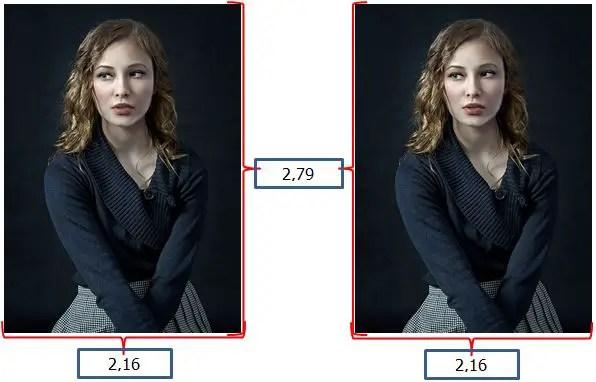 contoh ukuran foto 2x3 dalam satuan centimeter