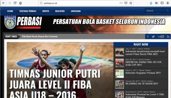 Induk Organisasi Bola Basket