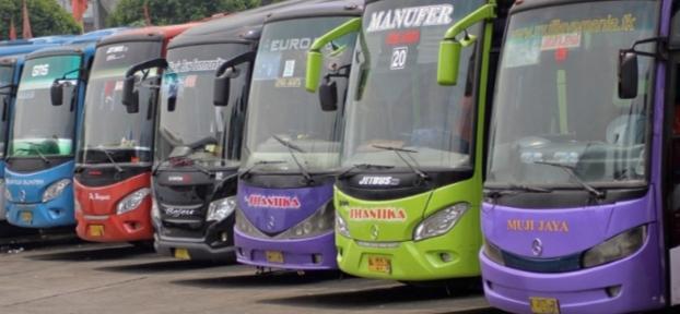 Ingat, Bus Berstiker Khusus Bukan Untuk Pemudik